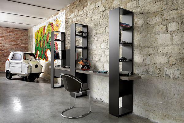 Les 25 meilleures id es de la cat gorie meuble ordinateur - Meuble tv petit espace ...