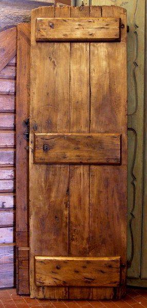 ... Porte rustiche su Pinterest  Sportelli dispensa, Porte in legno e
