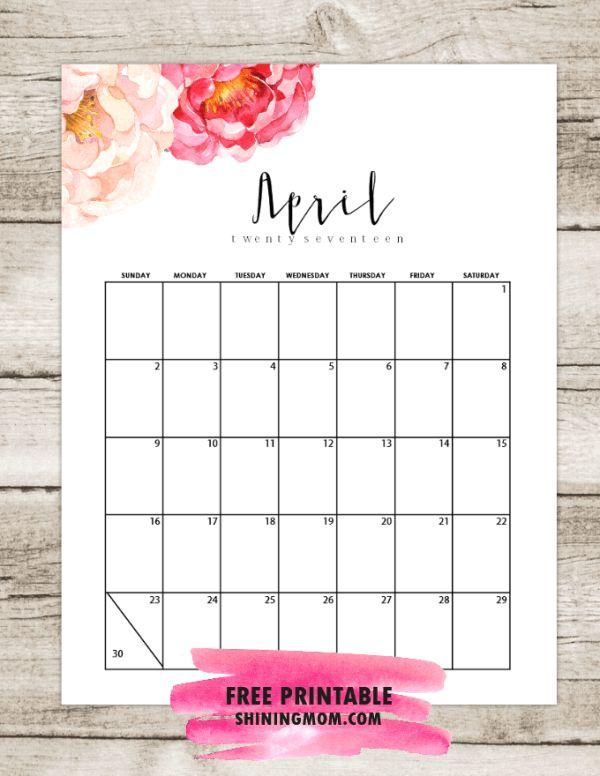 April Calendar Decorations : Best ideas about april calendar on pinterest