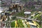 """Alcaldía de Medellín y Empresa de Desarrollo Urbano, EDU, celebran premio """"Proyecto de la infraestructura renovable del año"""" que obtuvo Parques del Río Medellín"""