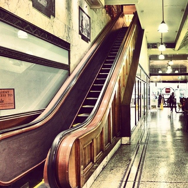 The first escalator in Melbourne was installed in the Manchester Unity Building opening in 1932,