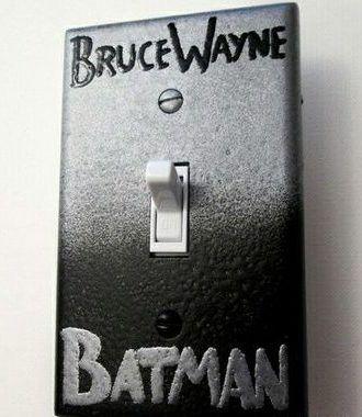decoração nerd batman