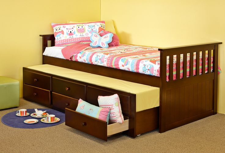 Beds and Packages : Sophie Captain Single Bed with Trundle Perth, Western Australia - Furniture Bazaar