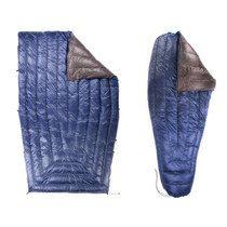 Enlightened Equipment Revelation Sleeping Bag, maximum weight 22 ounces.