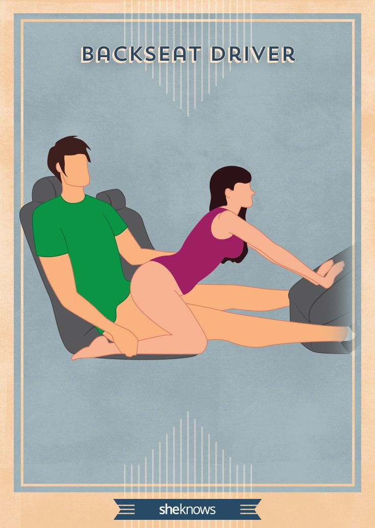 Best sex positions for in a car
