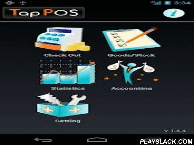 TapPOS Inventory Sales Free  Android App - playslack.com ,  This all-in-one package of POS register/Inventory Management/Statistics/Accounting/Bookkeeping app will help to manage your business efficiently and stylishly.- Goods/Inventory Management - Goods register/search - Goods management by barcode - Stock number management - Inventory/Goods list- POS - Payment register - Barcode scan on purchase - Discount (percent or value) - Receipt printing - Receipt via Email - Payment method…