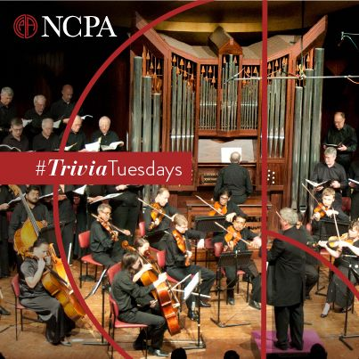 Did you know that the installation of India's first Concert Pipe Organ in the Tata Theatre at the NCPA took place in the year 1988? The pipe organ was recently played during the South West Festival Chorus with Members of the SOI in March 2014. #TriviaTuesday