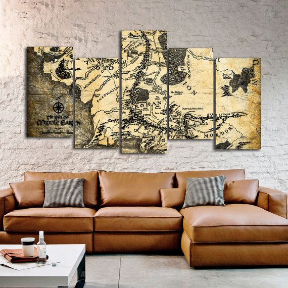 25 best middle earth map ideas on pinterest for Lord of the rings bedroom ideas