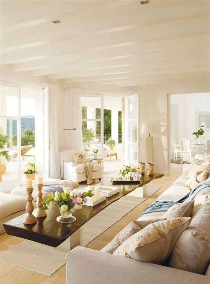 M s de 25 ideas incre bles sobre ventanas del sal n en - Limpieza de casa con sal ...