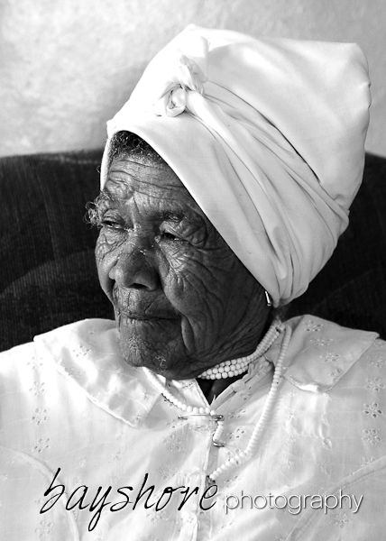 This elderly woman chief in a Namibian village graciously consented to having her portait taken.