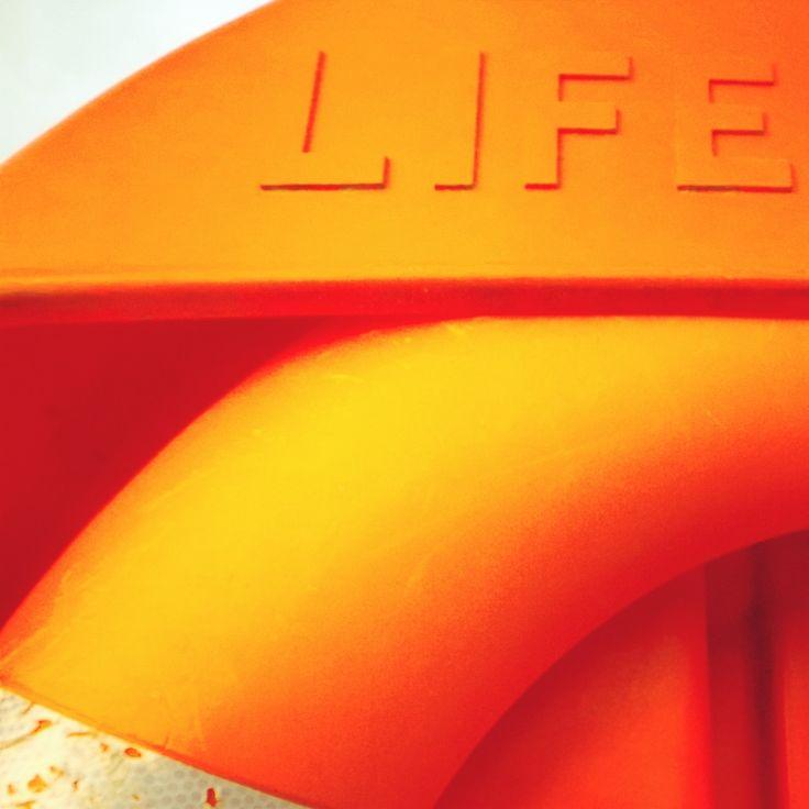 Life ring at Tilgate Park.. #orange #lifesaver #lifering #life #landmark #tilgatepark #crawley #sussex