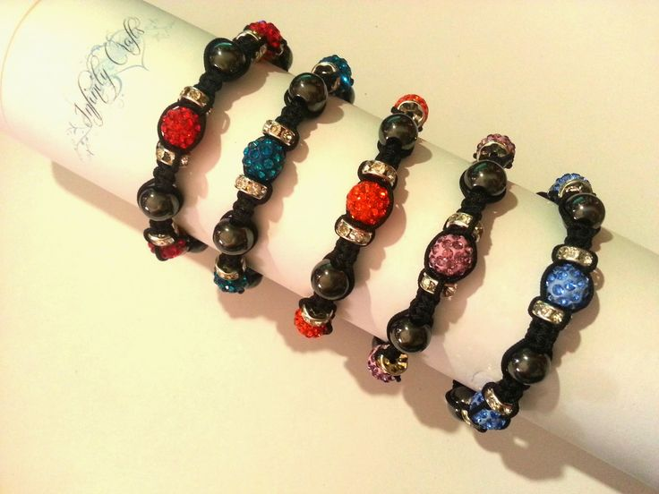 Each color in a Shamballa Bracelet has a fascinating and unique meaning. The theory of colors relates to thecolors in the Shamballa Bracelet you buy. The color you select promotes the feeling of well-being associated to the emotion or physical condition you wish to develop. info@jaquisjewels.co.za