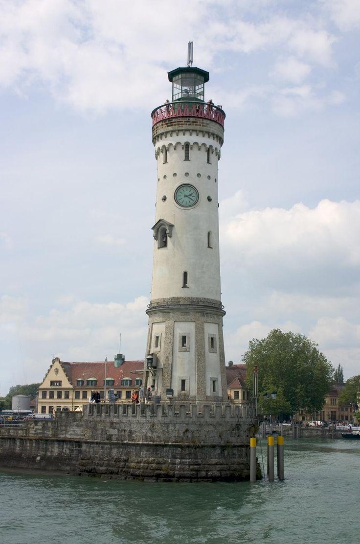 Lindau #Lighthouse - #Germany    http://dennisharper.lnf.com/