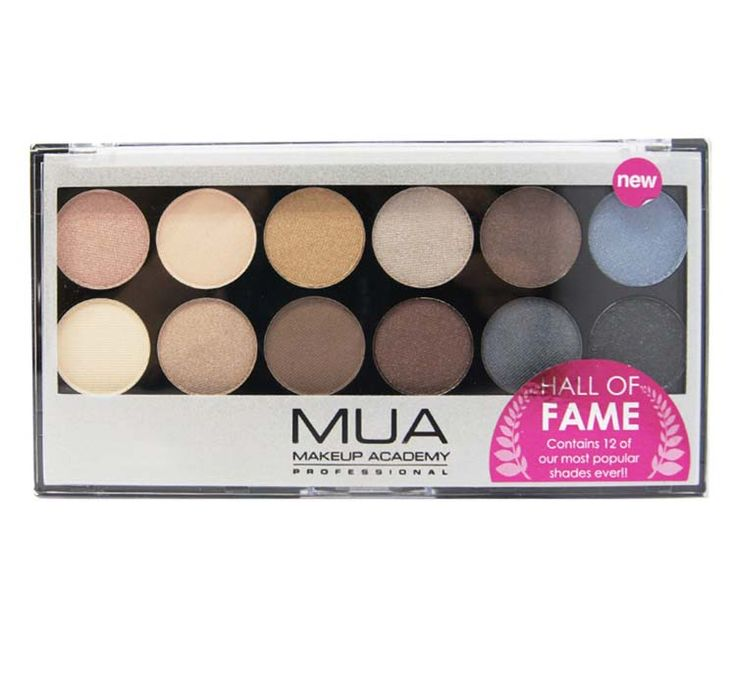 Hall of Fame to paleta 12 cieni do powiek od Makeup Academy.