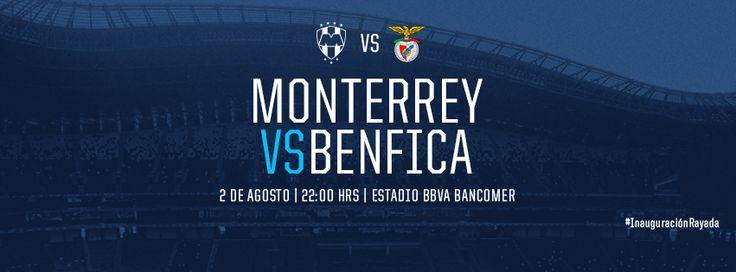 Este domingo 2 de agosto a las 22:00hrs es el partido inaugural en la nueva casa de los #Rayados.   Apoya usando el hashtag: #InauguraciónRayada Transmitiráa: Televisa Monterrey, Multimedios, TDN, Univisión TDN.