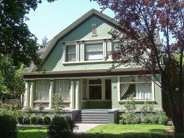 dutch colonial revival in San Jose, California