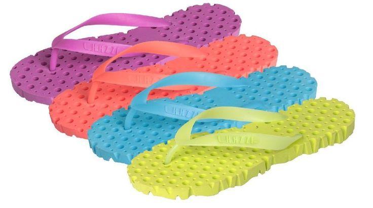 Ladies Bright Colored Waterproof Flip Flop, Sandal Crocflops, Shower Slippers #ChazziCollection #CrocFlops | MoeTgoods