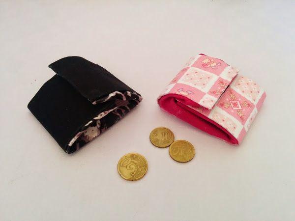 Como hacer un monedero reciclando telas y sin coser!!