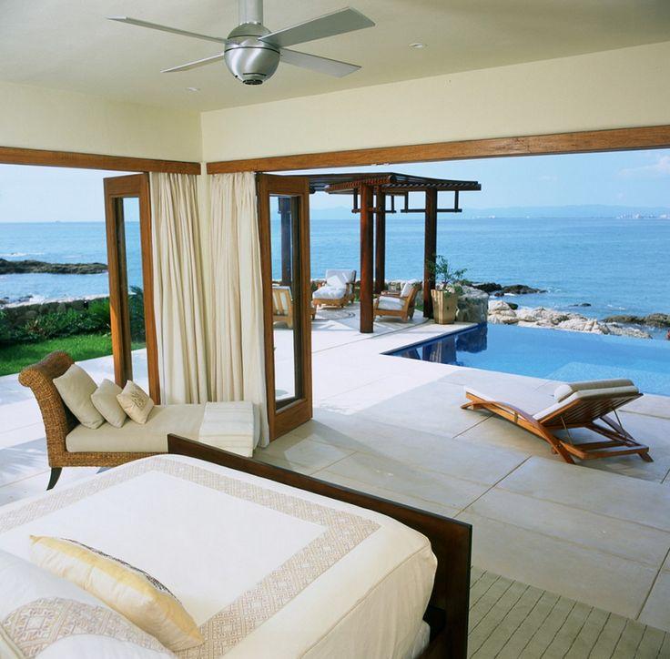 Tropical Bedroom Design in Puerto Vallarta, Mexico