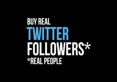 The twitter followers that you buy are real twitter followers and they help in the promotional activities of your name or your brand's name http://makjack123.jigsy.com/entries/general/buying-twitter-followers-is-in-fashion