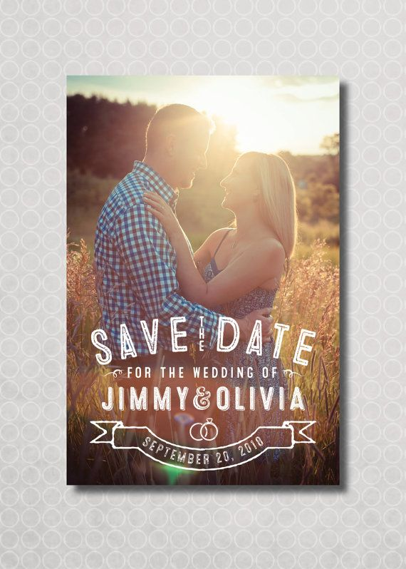 Hey, I found this really awesome Etsy listing at https://www.etsy.com/listing/199777622/vintage-rustic-save-the-date-magnet-card