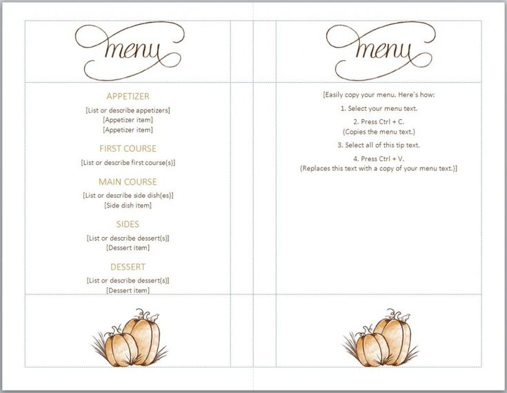 Best 25 Free menu templates ideas – Free Cafe Menu Templates for Word