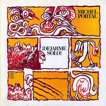 Michel Portal Dejarme Solo Cover By Pierre Alechinski