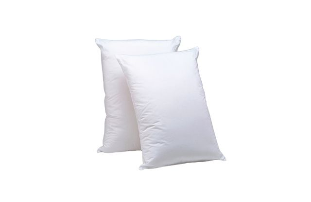 The Best Bed Pillows | The Sweethome Premier Down-Like Personal Choice Density Pillow (~$27 for two) overstock.com