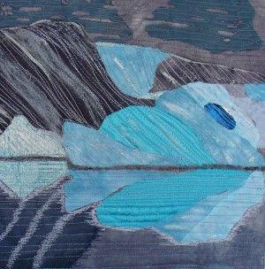 Textielkunst: ijs