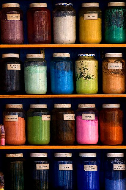 .: Colors Trends, Colour, Design Seeds, Inspiration, Canning Jars, Winter Colors, Rainbows, Diy Gifts, Dyes