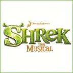 Join Shrek (Dean Chisnall), our unlikely hero, and his loyal steed Donkey (Richard Blackwood) as they set off on a quest to rescue the beautiful (if slightly temperamental) Princess Fiona (Carley Stenson) from her tower, guarded by a fire breathing love-sick dragon. Add the diminutive Lord Farquaad (Neil McDermott), a gang of fairytale misfits, and a biscuit with attitude, and you've got this year's must see new musical comedy – SHREK THE MUSICAL!    BOOK AT LINK BELOW FOR TICKETS!