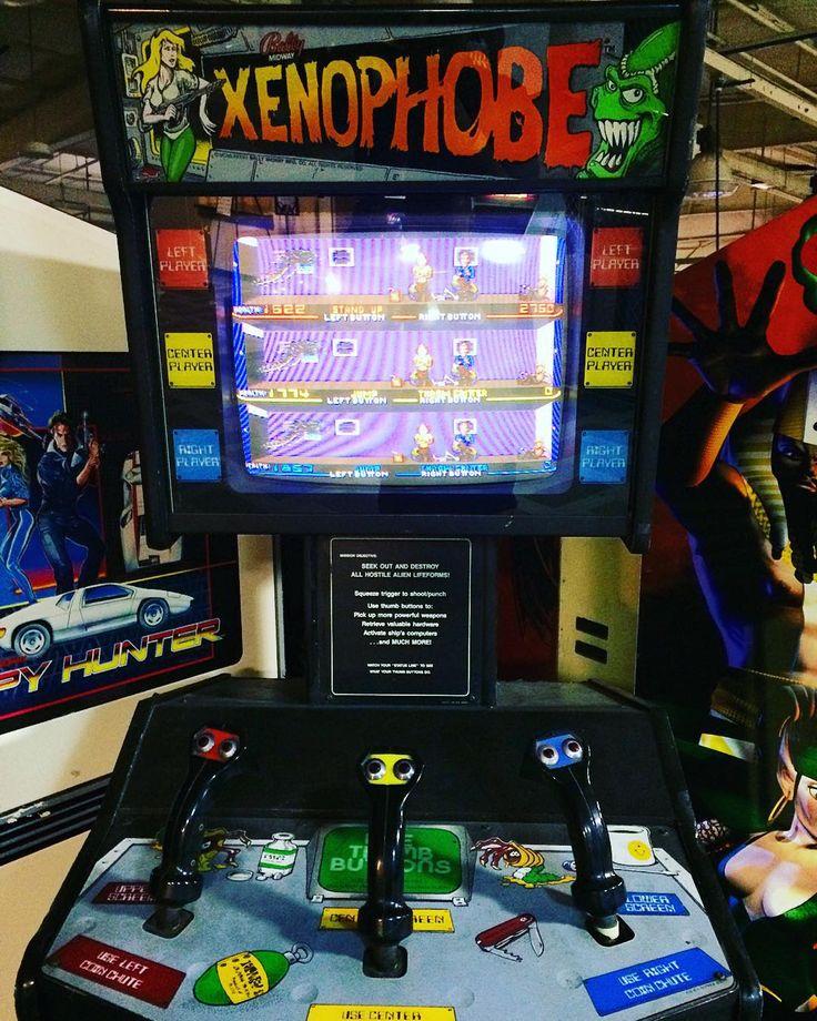 Xenophobe arcade #xenophobe #arcade #videogames # ... Xenophobe Game