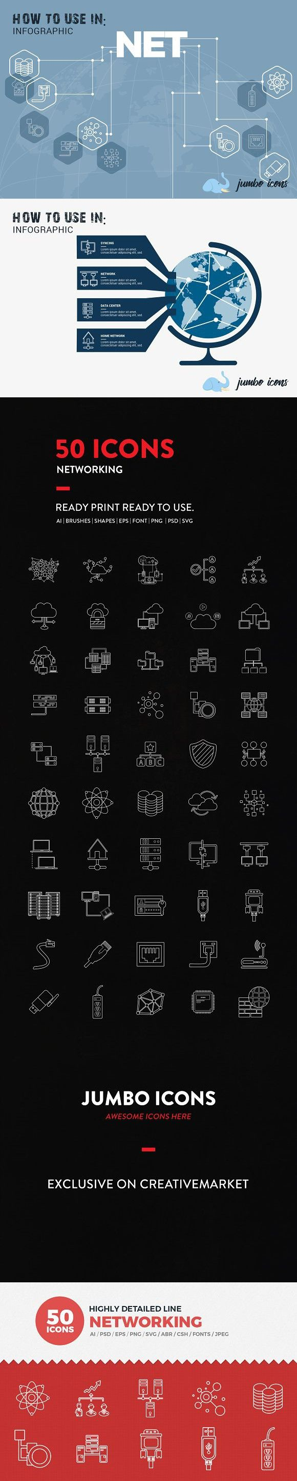 JI-Line Networking Icons Set #networkingicons #accesspoint