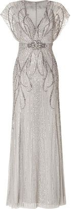 Wedding Gown Inspiration: Jenny Packham Sequin Embellished Gown in Platinum Size 6 $3,234 was $4,620 30% off