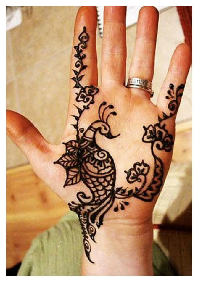 Mehndi Reaction On Hands : Henna designs black has high allergy reactions