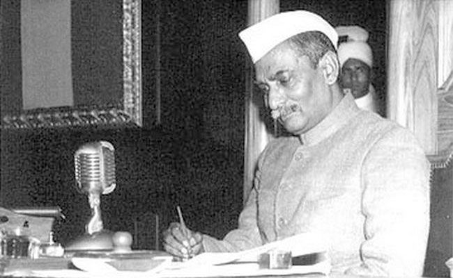 Dr Rajendra Prasad was the first president of India