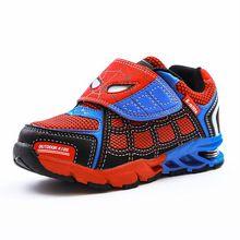 Детская обувь Spiderman спортивные кроссовки