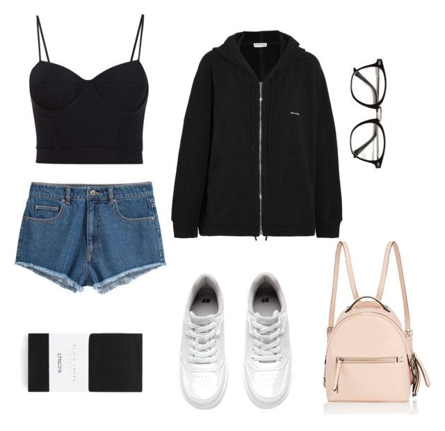 """""""concert look"""" by mrmccready on Polyvore featuring H&M, Alexander Wang, Chico's, Balenciaga and Fendi"""