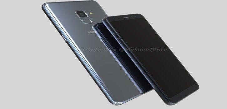 Samsung Galaxy A8 (2018) akıllı telefonları için ön panel görselleri yayınlandı. Samsung Galaxy A8 (2018) için detaylar belli oldu mu? Ekran nasıl olacak?