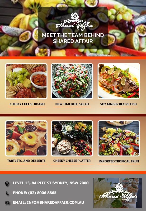 Party Catering Sydney Makes Your Party an Affair to Remember for a Long Time