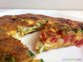 """Os contamos cómo hacer una """"TortiPizza"""", receta ligera con la que os chuparéis los dedos."""