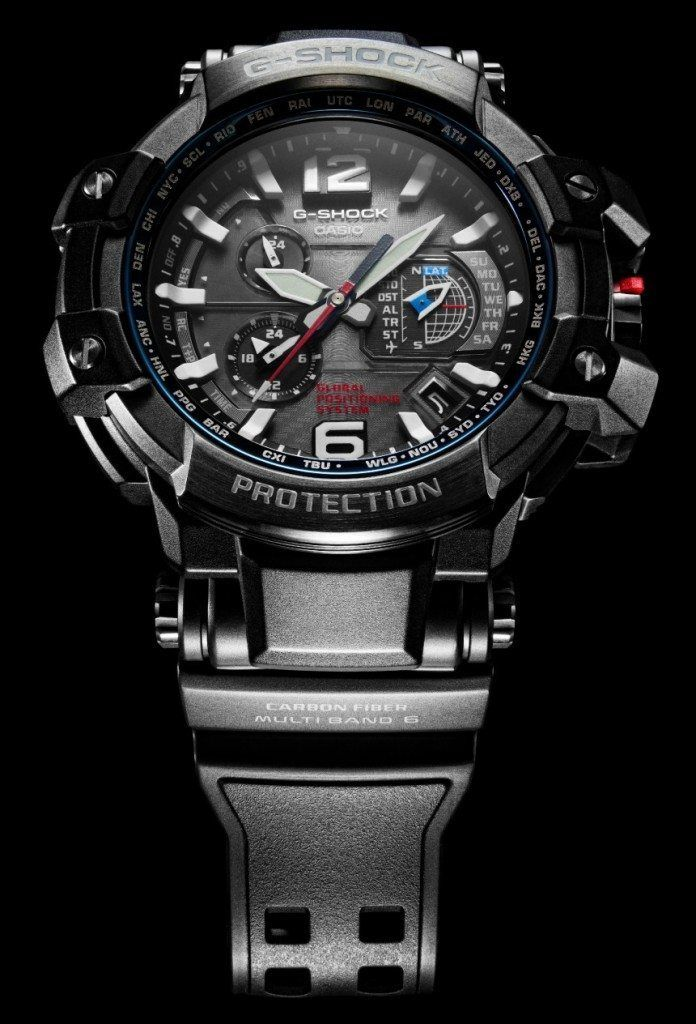Casio G-Shock GPW1000 Is First Watch To Combine GPS & Atomic Clock Radio Time Syncing Watch Releases