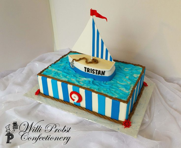 24 best Willi Probst Bakery Nautical Cakes images on Pinterest