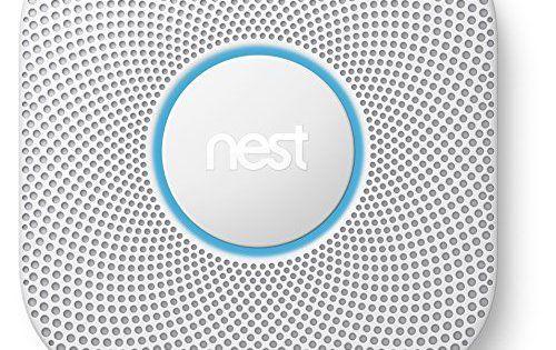 Nest Protect 2ème génération, détecteur de fumée et monoxyde de carbone, (à Piles): Détecteur de fumée et de monoxyde de carbone connecté…