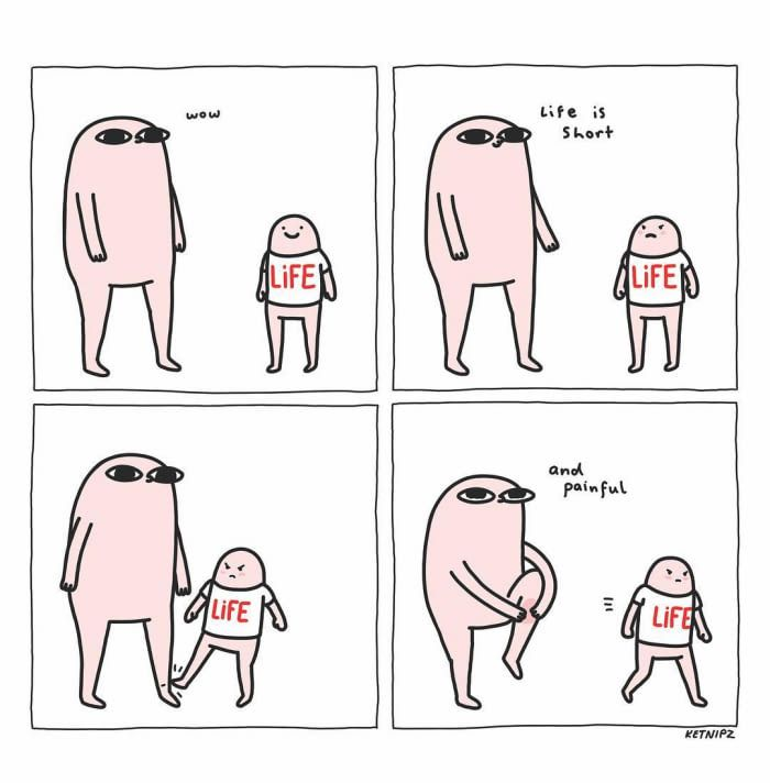Artist Turns Daily Life Into Comics That You Will Find Them Relatable Funny Wallpapers Funny Comics Funny Cute