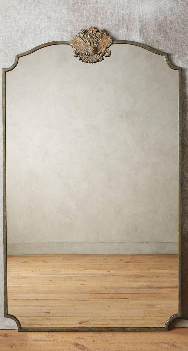 Spiegel mit Waldmotiv im französischen Stil