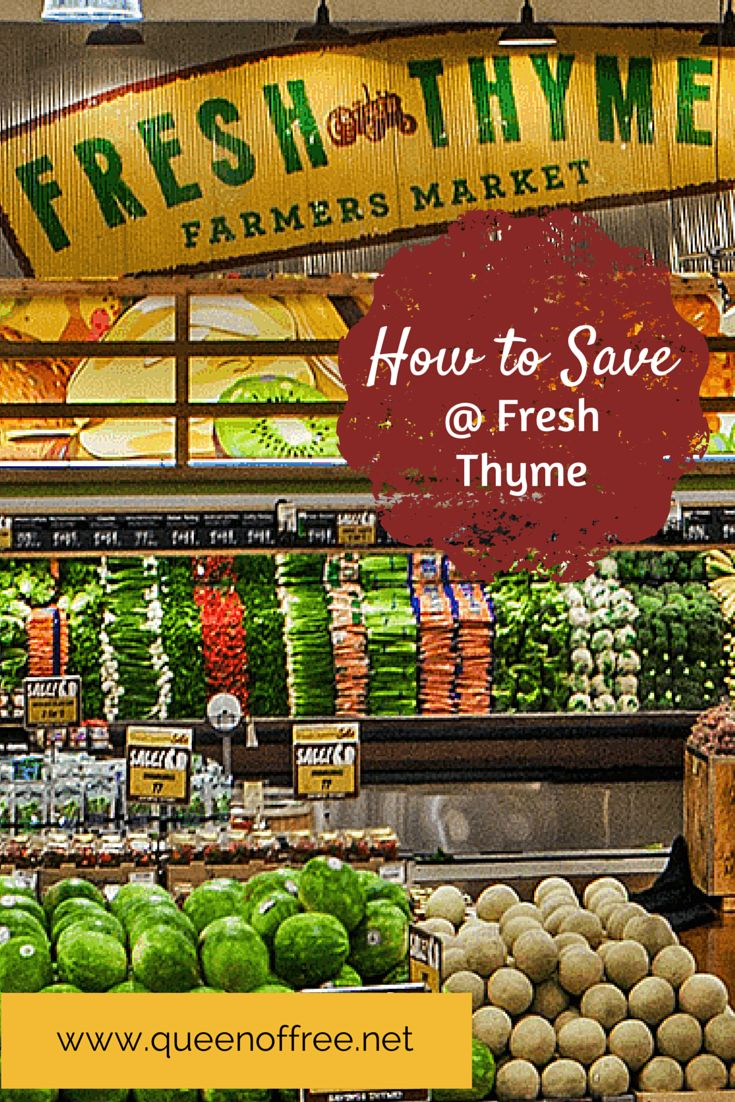 Four specific strategies to save bundles when you shop at Fresh Thyme Farmers Market!