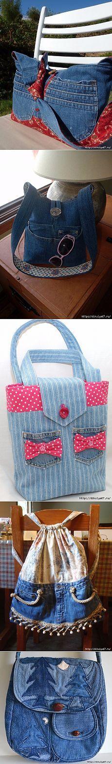 Джинсовые сумки great job please Visit my site https://www.upcyclingbymilo.com/ for more products
