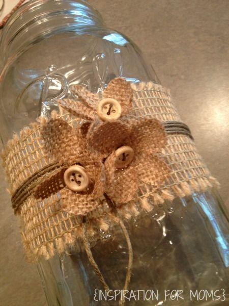 I heart Mason Jars OR 1001 Mason Jar Projects :: Anne @ DesignDreams by Anne's clipboard on Hometalk :: Hometalk