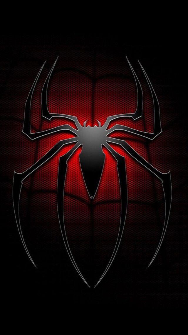 The Amazing Spider Man Logo Phone Wallpaper Spiderman Pictures Marvel Spiderman Art Marvel Superhero Posters Cool spiderman logo wallpaper